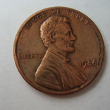 США 1 цент 1986 года., фото №3