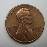 США 1 цент 1986 года.D, фото №4