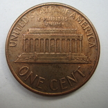 США 1 цент 1986 года.D, фото №5