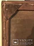 Работа по мотивам картины ''На кладке'' К.Трутовского . Копия., фото №12