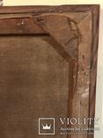 Работа по мотивам картины ''На кладке'' К.Трутовского . Копия., фото №13