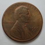 США 1 цент 1990 года.D, фото №2