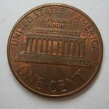 США 1 цент 1990 года.D, фото №5