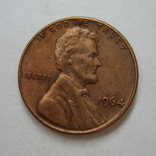 США 1 цент 1964 года., фото №4
