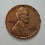 США 1 цент 1964 года., фото №5