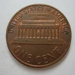 США 1 цент 1975 года.D, фото №6