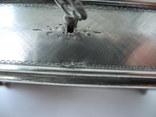 Музыкальная шкатулка для украшений ( Серебро 800 пр ) Италия, фото №13