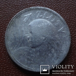 1 злотый 1924 Польша жница серебро (М.7.20), фото №2