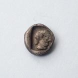 Гемиобол (серебро) Кария, г.Галикарнас, 480 - 450 гг.до н.э., фото №2
