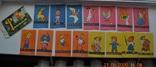 """Полный набор """" Флажки детские для ёлки """". Из СССР. 15 штук. 1968 г.в. Состояние новых. №1, фото №3"""