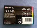 АудиоКассета Emtec Sound 1 90 в пленке, фото №5