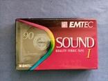 АудиоКассета Emtec Sound 1 90 в пленке, фото №2
