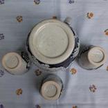 Кувшин и три стопки,керамика .Германия, фото №5