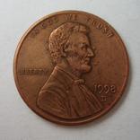 США 1 цент 1998 года.D, фото №3