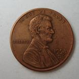 США 1 цент 1998 года.D, фото №5