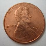 США 1 цент 2003 года.D, фото №2