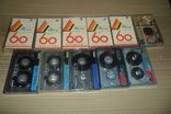 Аудиокассета кассета 11 штук Range Ronees Konica, фото №2