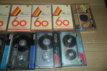 Аудиокассета кассета 11 штук Range Ronees Konica, фото №4