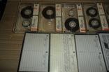 Аудиокассета кассета 11 штук Range Ronees Konica, фото №5