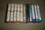 Аудиокассета кассета 11 штук Range Ronees Konica, фото №7