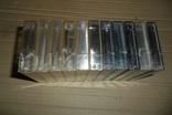 Аудиокассета кассета 11 штук Range Ronees Konica, фото №8