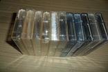 Аудиокассета кассета 11 штук Range Ronees Konica, фото №9