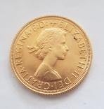 Соверен 1959г. Золото 917пр. 7.99грам, фото №3
