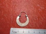 Серьга 1 шт. серебро, фото №5
