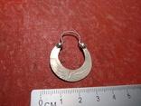 Серьга 1 шт. серебро, фото №6