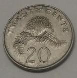 Сінгапур 20 центів, 1987