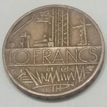 Франція 10 франків, 1980