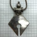 Подвес серебро на цепочке, фото №5