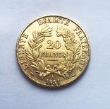 20 франков 1851 года., фото №2