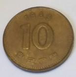 Південна Корея 10 вон, 1989