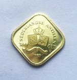 300 гульденов 1980 года. Нидерландские Антиллы, фото №2