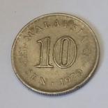 Малайзія 10 сенів, 1979