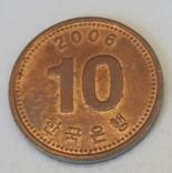Південна Корея 10 вон, 2006