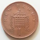 1 пенни 1971 г. Великобритания, фото №3