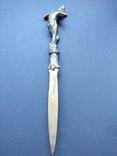Антикварный нож для бумаг, писем стиля Модерн, начала 20 в., фото №4