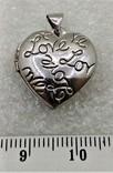 Кулон Подвеска в форме Сердечка или Сердца LOVE, фото №2