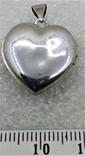 Кулон Подвеска в форме Сердечка или Сердца LOVE, фото №5