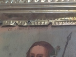 Икона Св.Димитрий Мироточивый. Фигурный киот. 40х44см., фото №4