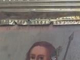 Икона Св.Димитрий Мироточивый. Фигурный киот. 40х44см., фото №5
