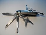 Нож (мультитул) немецкий Rostfrei, 11 предметов. Масса 111 г., фото №12