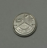 Бельгія 1 франк, 1991