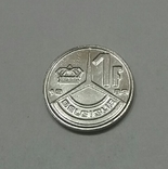 Бельгія 1 франк, 1989