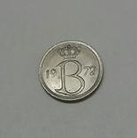Бельгія 25 сантимів, 1972
