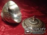 Блюдо для икры / покрытие серебром /., фото №6
