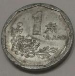 Китай 1 джао, 1996