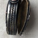 Серебряный кулон/таблетница с эмалями,старый экспортный Китай, фото №9
